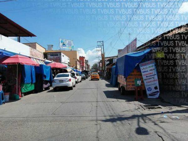 Son alrededor de 30 los ambulantes sin permiso en Tuxtepec
