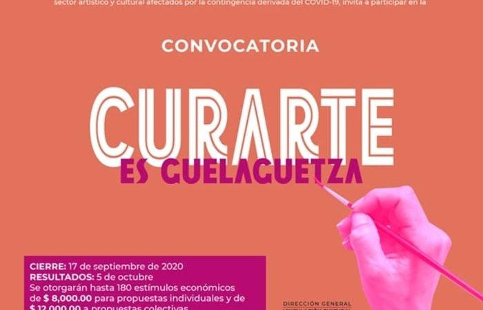"""Presenta Seculta la Convocatoria """"CurArte es Guelaguetza"""", para reactivar el sector cultural y artístico en Oaxaca"""