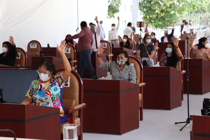 Aprueba Congreso de Oaxaca, frenar descuento salarial a trabajadores del Gobierno el Estado
