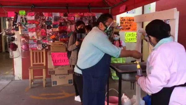 Mercado de la merced en Oaxaca adecúa espacios para atender a clientes
