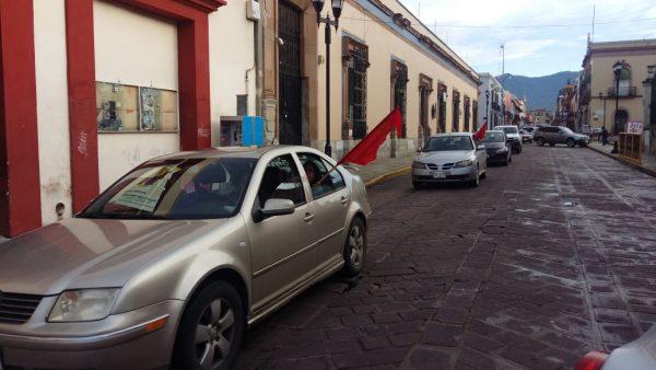 Parte caravana del FPR para sepultar a líder en Miahuatlán asesinado