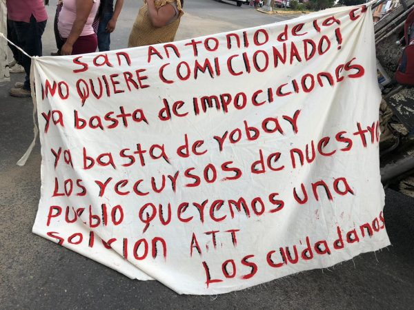 Habitantes de San Antonio de la Cal, mantienen bloqueos en la ciudad de Oaxaca