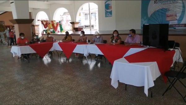 Loma Bonita va regresando a la normalidad, cabildo aprueba nuevos acuerdos