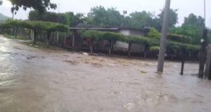 Activa CEPCO protocolos por inundación pluvial en Tututepec