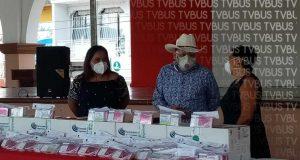 Recibe ayuntamiento de Loma Bonita donación de medicamentos de iniciativa privada
