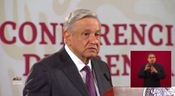 López Obrador llama a cuidarse en diciembre ante la pandemia