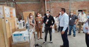 Recibe ISSSTE Tuxtepec, equipo con inversión de los 8 mdp