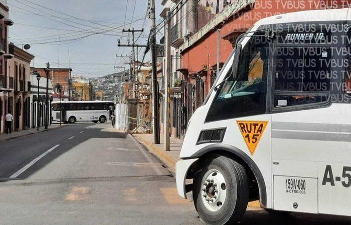 Comvives de zona norte de Oaxaca, bloquean calles del centro histórico