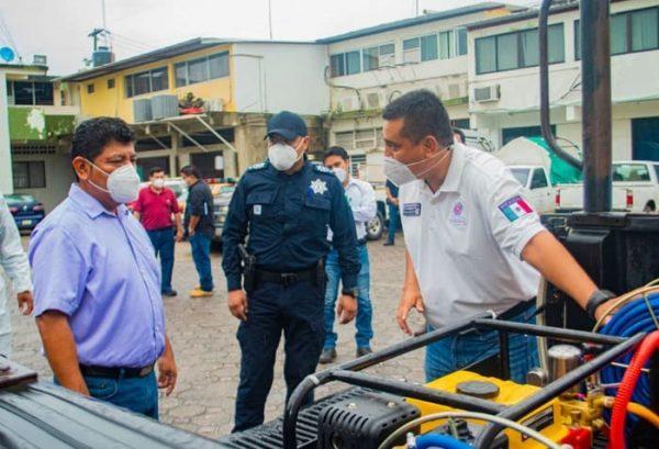 Protegemos a los tuxtepecanos del riesgo que representa el Covid-19: Noé Ramírez