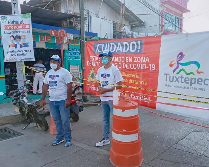 Hoy se reúne Cabildo, analizará resultados de las 12 medidas extraordinarias contra el Covid-19 en Tuxtepec