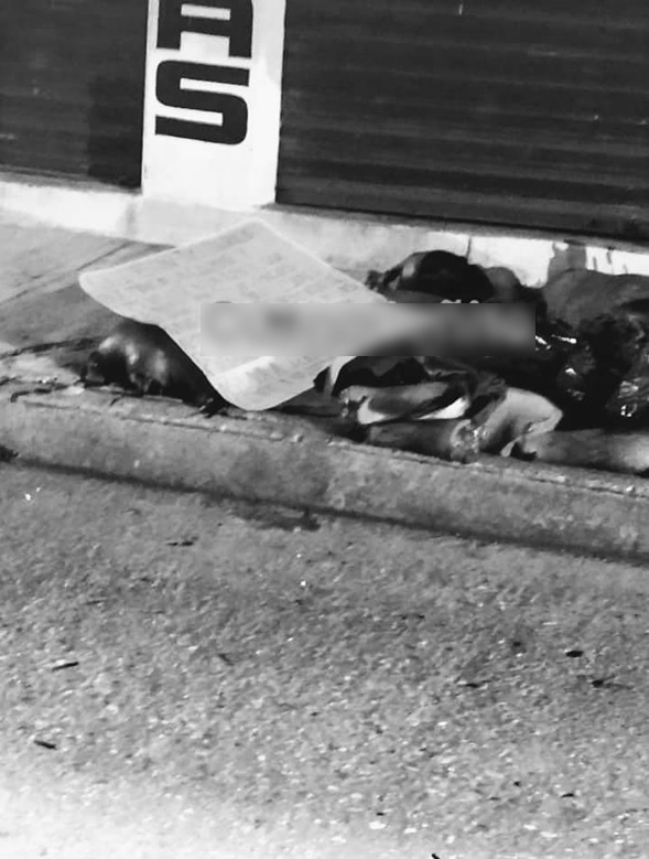 Tiran 2 cuerpos desmembrados en Tuxtepec, dejan narcomensaje