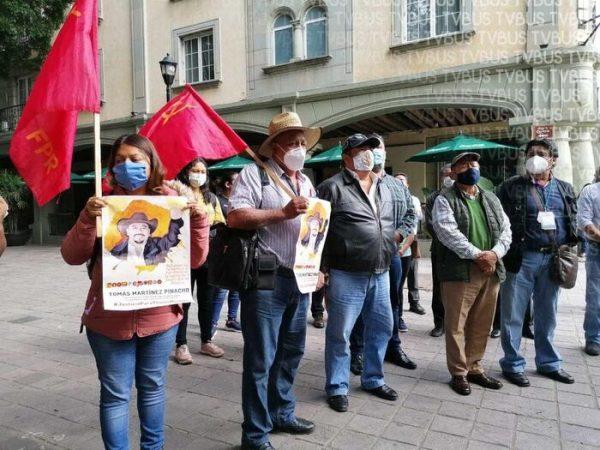 FPR pide destitución del Fiscal de Oaxaca y del Presidente de Miahuatlán, por asesinato de su dirigente