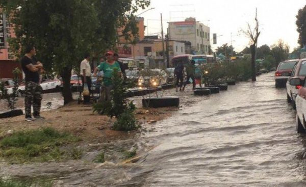 Lluvias dejan daños en Oaxaca