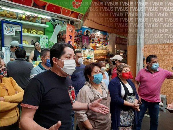 Locatarios del mercado 20 de noviembre se oponen a construcción de centro gastronómico en Oaxaca