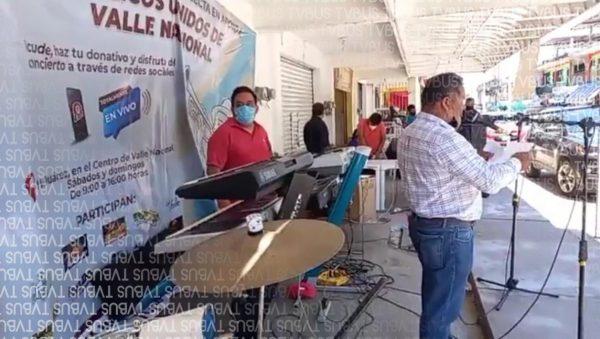 Músicos Vallenses realizan concierto virtual para generar ingresos
