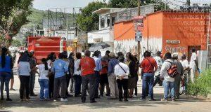 Se manifiestan en Santa Lucía del Camino por problemas en el abasto de agua