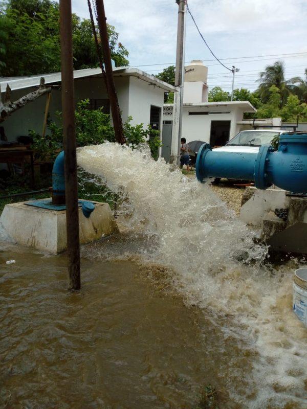 """Concluye rehabilitación del pozo """"Rayón""""; se reactiva suministro de agua a 5 colonias"""