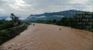 Sin daños en Valle por crecida del río