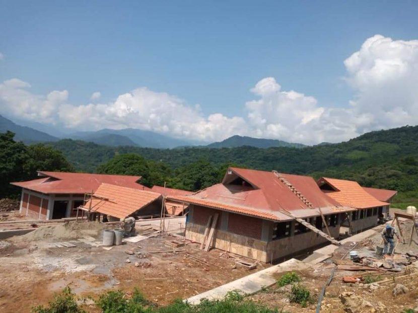 Lleva 90% de avance, universidad para el Bienestar en Valle Nacional