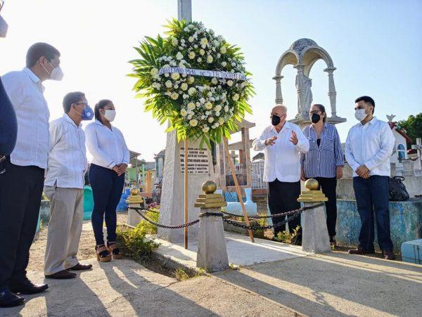 Conmemora Gobierno de Tuxtepec 30 Aniversario Luctuoso de Víctor Bravo Ahuja