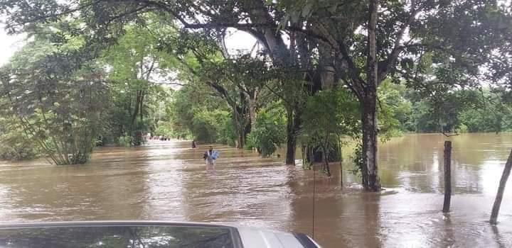 45 viviendas afectadas en San Juan Lalana; tras las lluvias