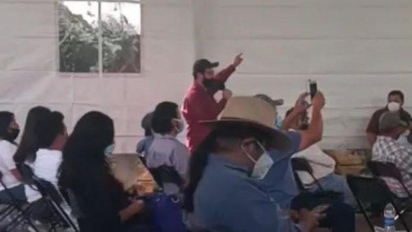 """Ahora en Huajuapan, """"hagan las cosas bien"""", le reclaman a Salomón Jara"""