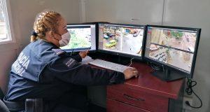 96.33% de las cámaras de videovigilancia en Valles Centrales de Oaxaca están en funcionamiento: SSPO