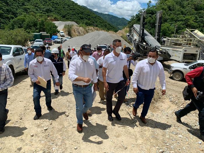 Supervisa AMH de nueva cuenta la autopista Barranca-Larga Ventanilla, ahora los avances del tramo III