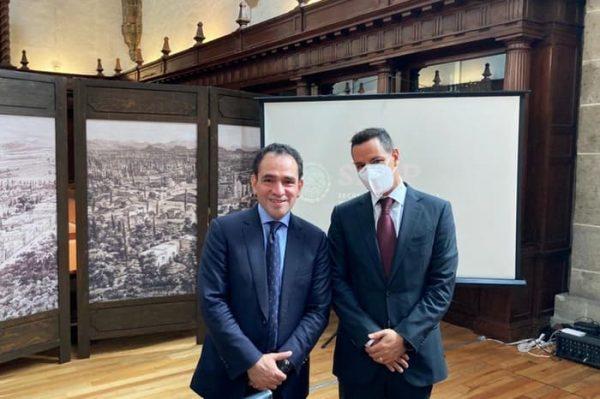 Se reúne AMH con Secretario de Hacienda en el marco de la CONAGO