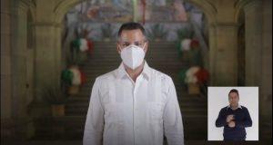 Oaxaca regresa a semáforo naranja; se mantiene obligatorio el uso de cubrebocas: AMH