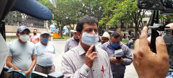 Ex Presidente de San Antonio de la Cal se deslinda de atentado a palacio municipal