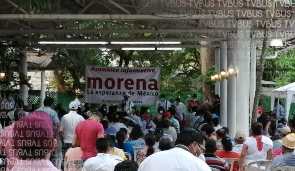 """""""No rebasaron más de 50 personas"""", responde Salomón Jara tras asamblea en Tuxtepec"""