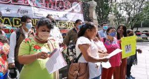 Apoyos entregados a organizaciones las repartió la Guardia Nacional: Asamblea de pueblos en defensa del territorio