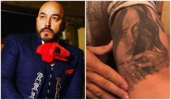 Lupillo Rivera revela que no piensa quitarse el tatuaje de Belinda