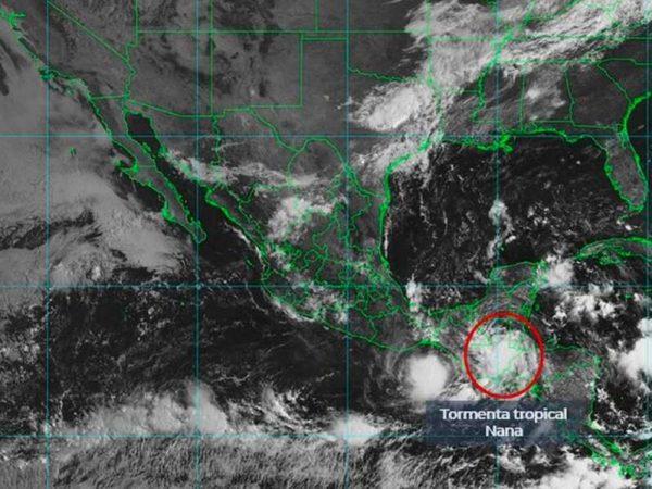 Se acerca la tormenta 'Nana' a Tuxtla Gutiérrez