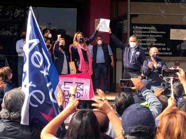 Impugnan Zavala y Calderón negativa a México Libre