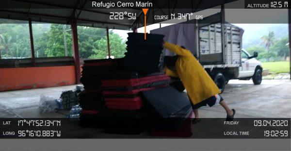 Por inundaciones, activa CEPCO protocolos de apoyo a la población en Valle Nacional