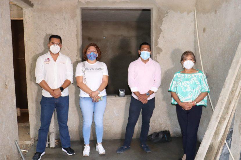 En San Jacinto Amilpas se apoya a la población con el programa Vivienda Joven