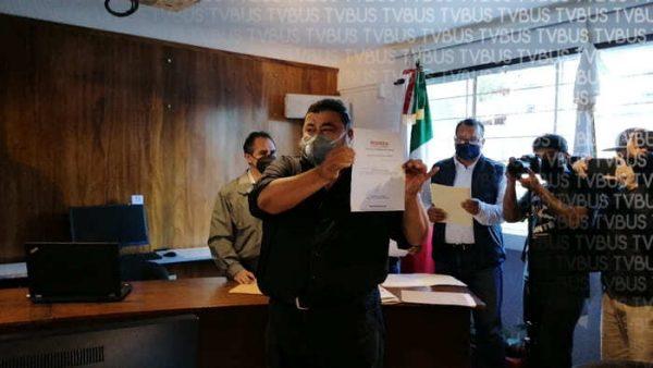 Se registra Flavio Sosa como aspirante para la Secretaría general de MORENA