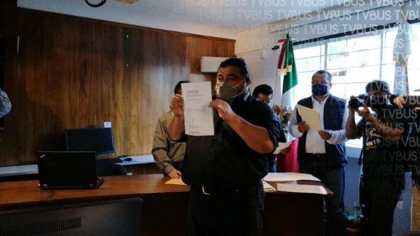 Niegan registro a Flavio Sosa como candidato a Secretario General de MORENA