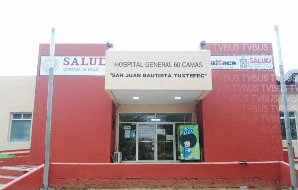 Por contingencia, no hubo quejas en los buzones del Hospital de Tuxtepec