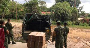 Instancias de Gobierno mantienen atención en municipios afectados por lluvias