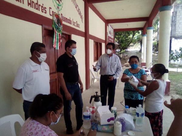 Llevan a los municipios con más contagios de covid, módulos de pruebas rápidas