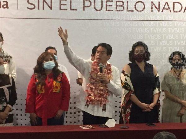 Desde Oaxaca, Mario Delgado llama a la unidad en MORENA