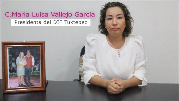 """""""Mientras el pueblo me apoye, quiero continuar el legado de Dávila"""": María Luisa Vallejo"""