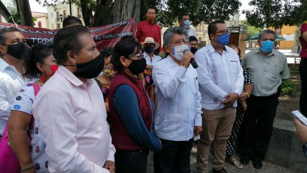 Movimiento por la Transformación de Oaxaca y Martínez Neri, manifiestan su apoyo a Mario Delgado