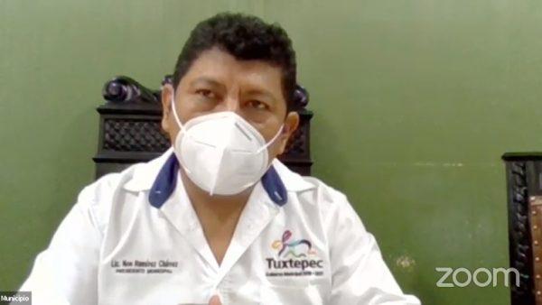 Busca Presidente de Tuxtepec, terminar año mejorando los servicios públicos