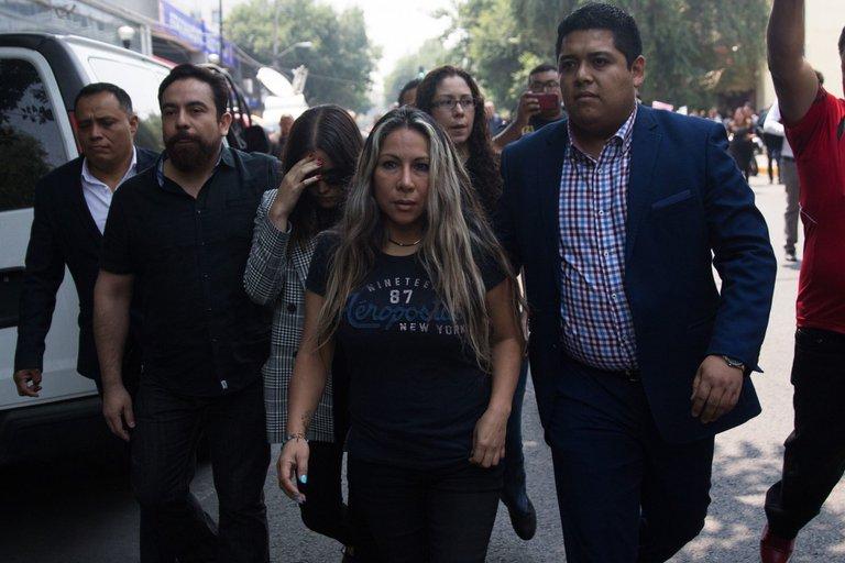 """Declaran culpable a """"Miss Moni"""", por muertes del Colegio Rébsamen en el sismo de 2017"""