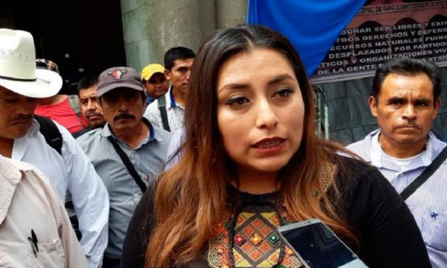 Liberan a la presidenta municipal de Tezoatlán