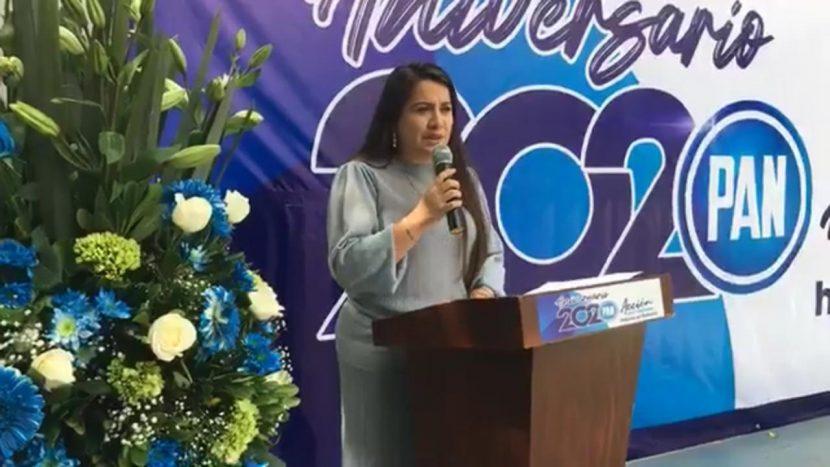 Administración de López Obrador está reprobada: Presidenta del PAN en Oaxaca